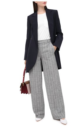 Женские брюки LORENA ANTONIAZZI серого цвета, арт. A2031PA002/3299   Фото 2