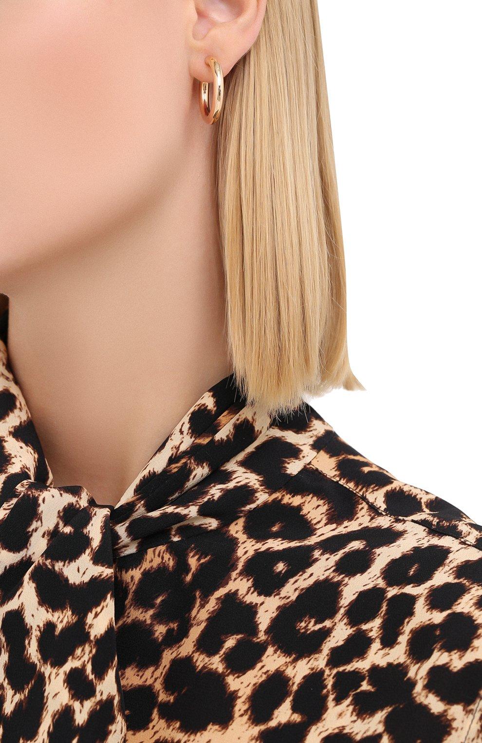 Женские серьги J-POINT золотого цвета, арт. ИПГ857.18.170320.1P   Фото 2 (Материал: Золото)