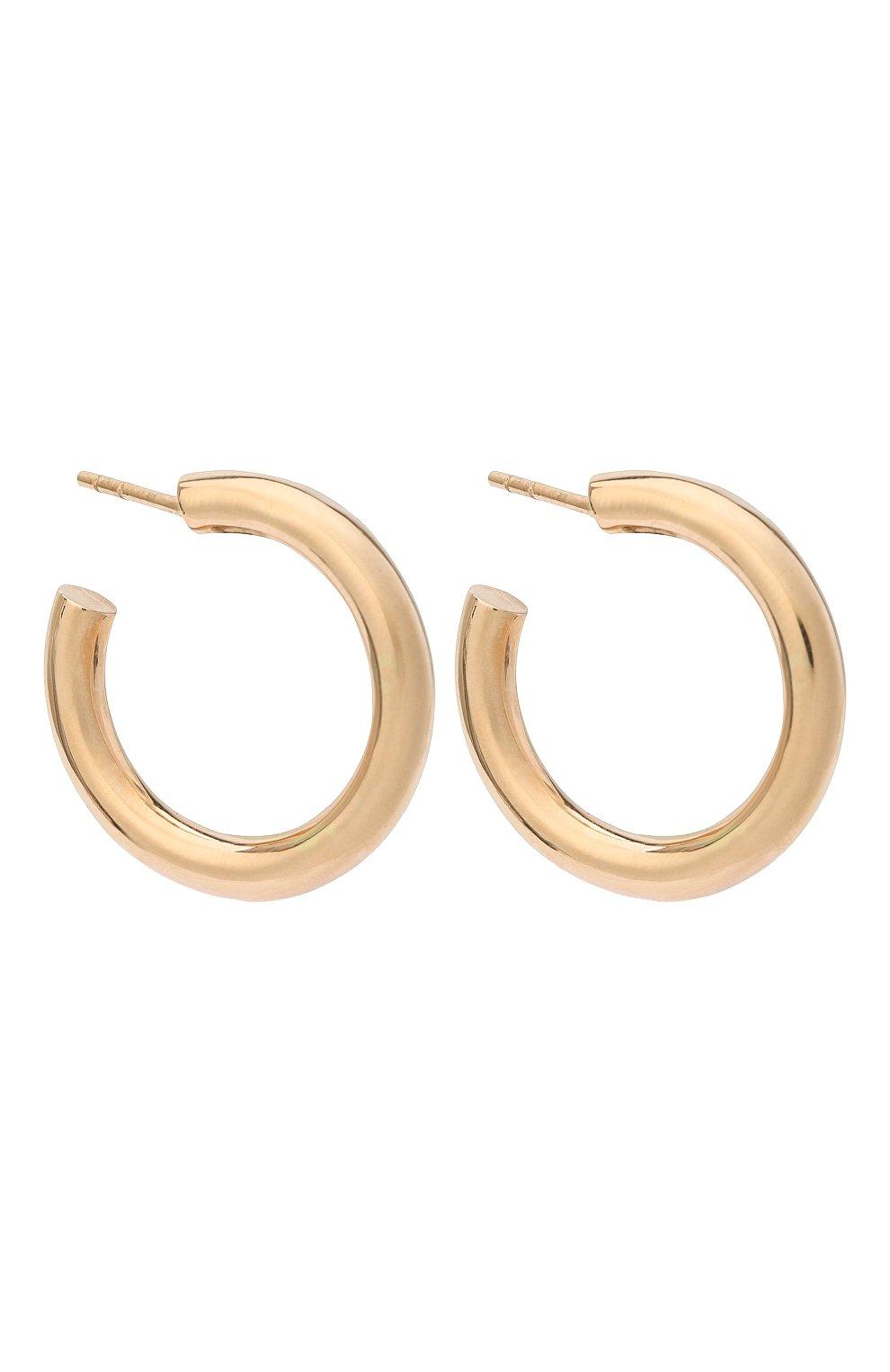 Женские серьги J-POINT золотого цвета, арт. ИПГ857.18.170320.1P   Фото 3 (Материал: Золото)