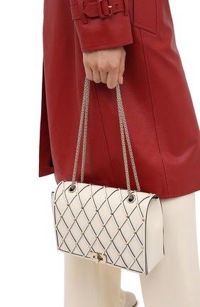 Женская сумка valentino garavani beehive VALENTINO кремвого цвета, арт. UW2B0H40/HTL | Фото 2