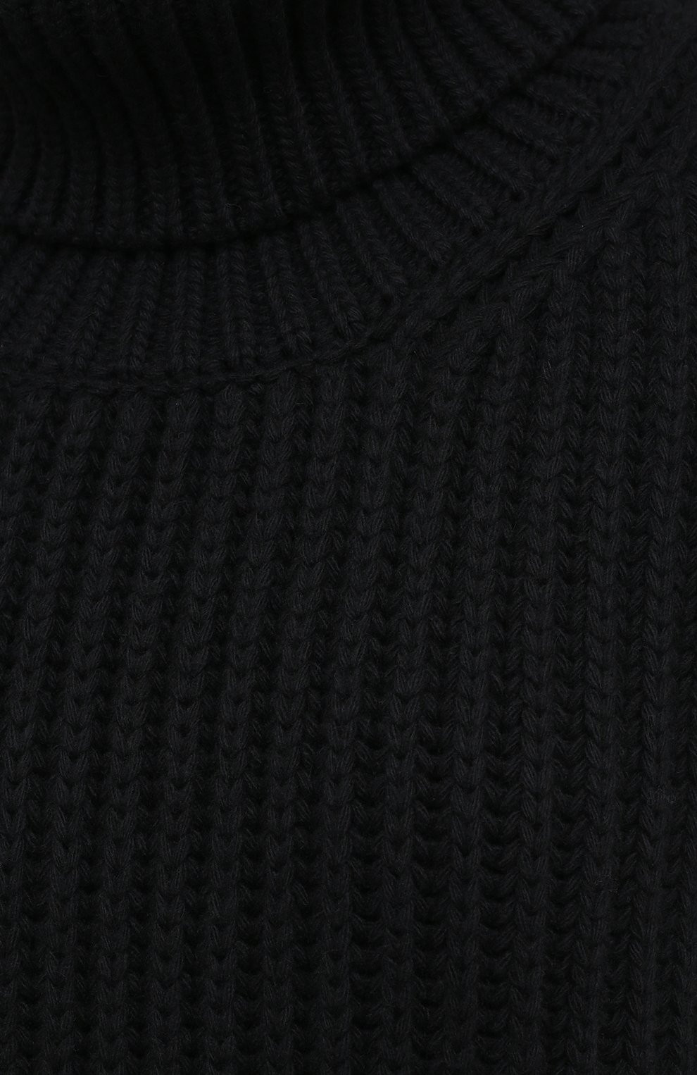 Женский жилет из шерсти и кашемира VALENTINO черного цвета, арт. UB3KCB495QK | Фото 5