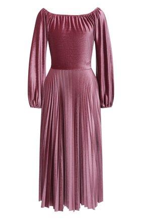 Женское платье VALENTINO розового цвета, арт. UB3MJ02J5MD   Фото 1