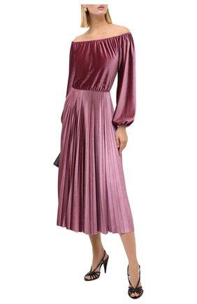 Женское платье VALENTINO розового цвета, арт. UB3MJ02J5MD   Фото 2