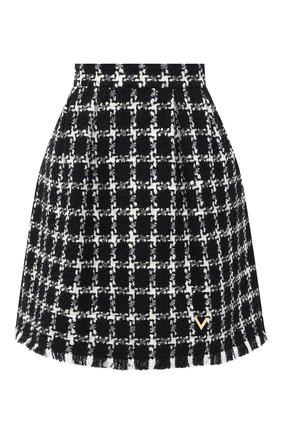 Женская юбка VALENTINO черно-белого цвета, арт. UB3RA6875LC | Фото 1