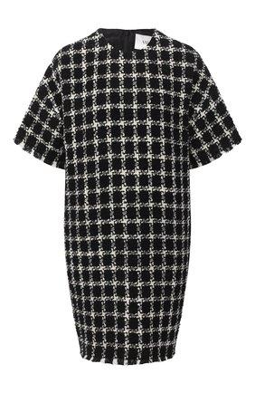 Женское платье VALENTINO черно-белого цвета, арт. UB3VATC55LC | Фото 1