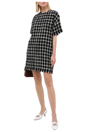 Женское платье VALENTINO черно-белого цвета, арт. UB3VATC55LC | Фото 2