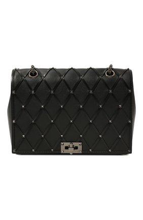 Женская сумка valentino garavani beehive VALENTINO черного цвета, арт. UW2B0H40/HZV | Фото 1