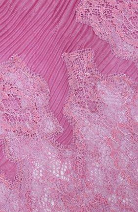 Женская кашемировый шарф valentino garavani VALENTINO розового цвета, арт. UW2EE379/CTZ | Фото 2