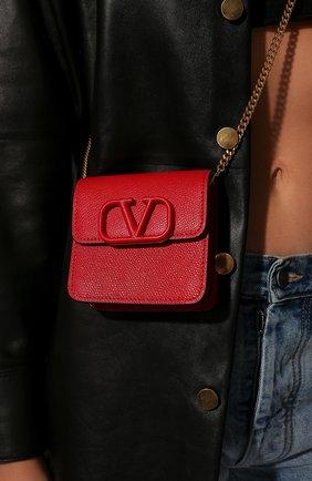 Женская сумка valentino garavani vsling VALENTINO красного цвета, арт. UW2P0S96/RQR | Фото 2