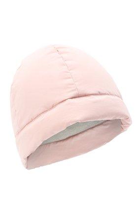 Женский пуховая шапка JIL SANDER светло-розового цвета, арт. JPPR590195-WR440900A | Фото 1