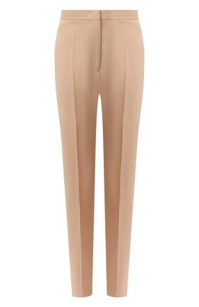 Женские шерстяные брюки JIL SANDER бежевого цвета, арт. JSPR301900-WR202500 | Фото 1
