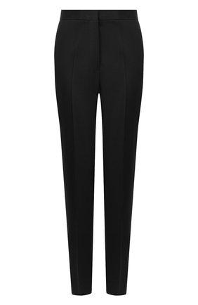 Женские шерстяные брюки JIL SANDER темно-синего цвета, арт. JSPR301900-WR202500   Фото 1