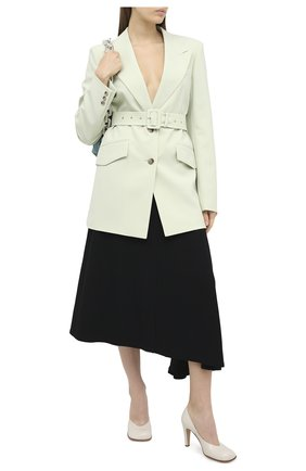 Женская юбка из вискозы JIL SANDER черного цвета, арт. JSPR351310-WR380200 | Фото 2