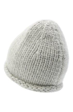 Женский шерстяная шапка JIL SANDER серого цвета, арт. JSPR751166-WRY21188 | Фото 2