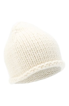 Женский шерстяная шапка JIL SANDER кремвого цвета, арт. JSPR751166-WRY21188 | Фото 1