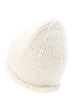 Женский шерстяная шапка JIL SANDER кремвого цвета, арт. JSPR751166-WRY21188 | Фото 2
