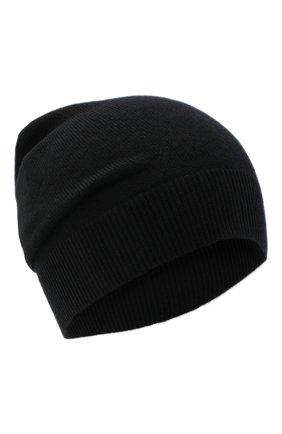 Женский кашемировая шапка JIL SANDER черного цвета, арт. JSPR754110-WRY10008 | Фото 1