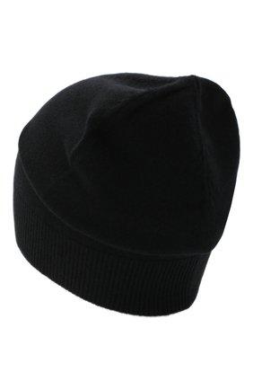 Женский кашемировая шапка JIL SANDER черного цвета, арт. JSPR754110-WRY10008 | Фото 2