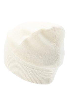 Женский кашемировая шапка JIL SANDER кремвого цвета, арт. JSPR754110-WRY10008 | Фото 2