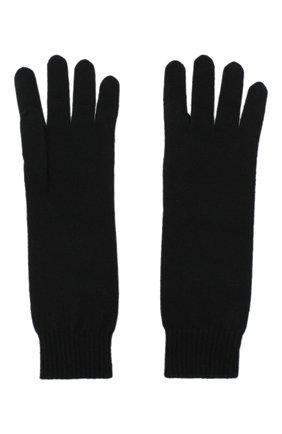 Женские кашемировые перчатки JIL SANDER черного цвета, арт. JSPR754111-WRY10008 | Фото 2