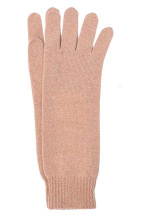Женские кашемировые перчатки JIL SANDER розового цвета, арт. JSPR754111-WRY10008 | Фото 1