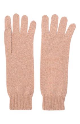 Женские кашемировые перчатки JIL SANDER розового цвета, арт. JSPR754111-WRY10008 | Фото 2