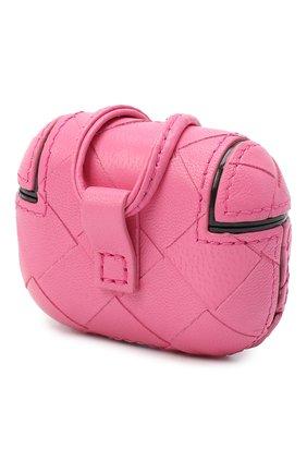 Мужской чехол для airpods pro BOTTEGA VENETA розового цвета, арт. 630309/VCPP0 | Фото 2