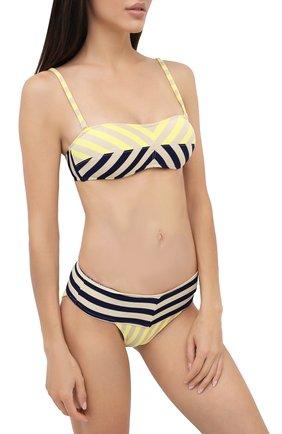 Женский раздельный купальник ANDRES SARDA желтого цвета, арт. 3408618-3408650 | Фото 2 (Материал внешний: Синтетический материал)