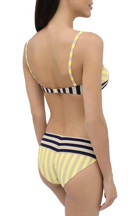 Женский раздельный купальник ANDRES SARDA желтого цвета, арт. 3408618-3408650 | Фото 3 (Материал внешний: Синтетический материал)