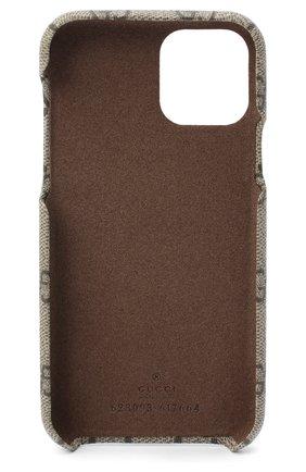 Мужской чехол для iphone 11 pro GUCCI бежевого цвета, арт. 623093/K5I0S | Фото 2