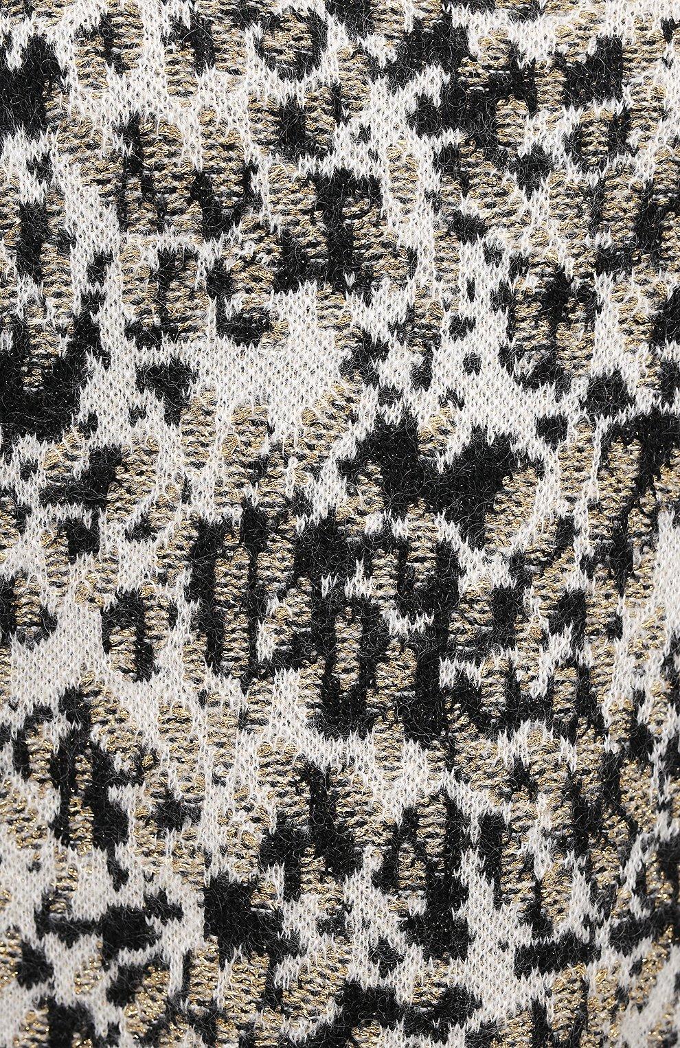 Женский свитер SAINT LAURENT разноцветного цвета, арт. 632020/YARZ2 | Фото 5
