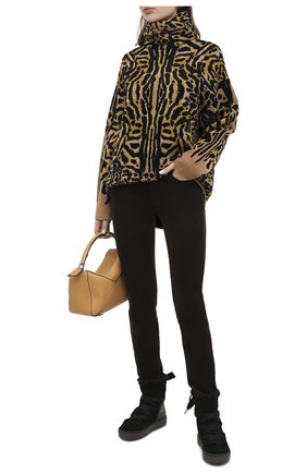 Женские замшевые ботинки SEE BY CHLOÉ черного цвета, арт. SB35151A/12230 | Фото 2