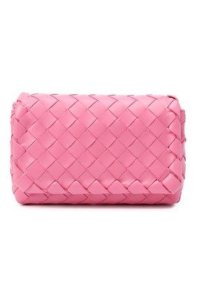 Женская сумка BOTTEGA VENETA розового цвета, арт. 609412/VCPP5 | Фото 1