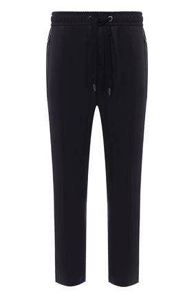 Мужской шерстяные брюки DOLCE & GABBANA синего цвета, арт. GYACET/FU2Z9 | Фото 1