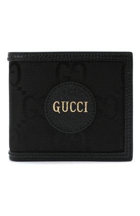 Мужской комбинированное портмоне off the grid GUCCI черного цвета, арт. 625574/H9HAN | Фото 1