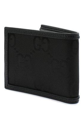 Мужской комбинированное портмоне off the grid GUCCI черного цвета, арт. 625574/H9HAN | Фото 2