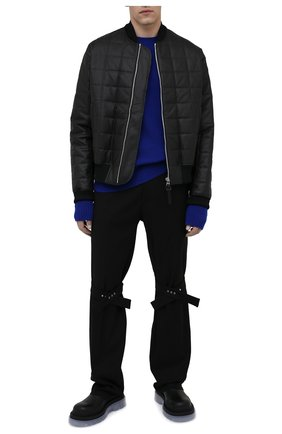 Мужские кожаные челси tire BOTTEGA VENETA прозрачного цвета, арт. 630281/VBS50 | Фото 2 (Каблук высота: Высокий; Материал внутренний: Натуральная кожа; Подошва: Массивная; Мужское Кросс-КТ: Челси-обувь, Сапоги-обувь)