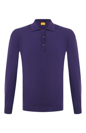 Мужское шерстяное поло SVEVO фиолетового цвета, арт. 1377SA20/MP13 | Фото 1