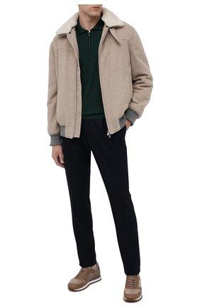 Мужское шерстяное поло SVEVO зеленого цвета, арт. 1314/1ZSA20/MP13 | Фото 2