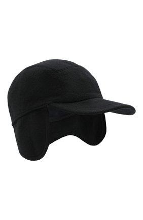Мужской кашемировая бейсболка SVEVO черного цвета, арт. 01041SA20/MP01/2 | Фото 1