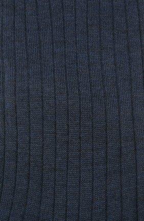 Мужские шерстяные носки BRIONI темно-синего цвета, арт. 0VMC00/09Z01 | Фото 2