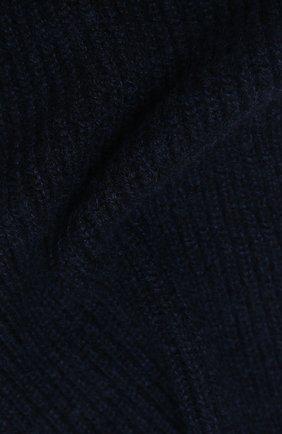 Мужской кашемировый шарф FEDELI темно-синего цвета, арт. 3UI02004 | Фото 2