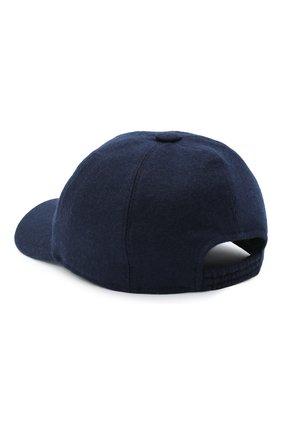 Мужской кашемировая бейсболка FEDELI темно-синего цвета, арт. 3UI00801 | Фото 2
