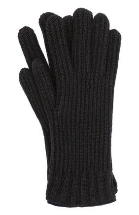 Мужские кашемировые перчатки FEDELI темно-коричневого цвета, арт. 3UI01004 | Фото 1