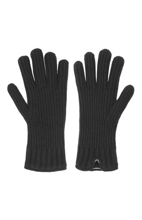 Мужские кашемировые перчатки FEDELI темно-коричневого цвета, арт. 3UI01004 | Фото 2
