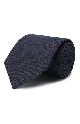 Мужской шелковый галстук LUCIANO BARBERA темно-синего цвета, арт. 123150/0C960 | Фото 1