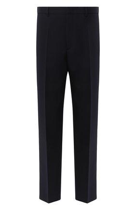 Мужской шерстяные брюки JIL SANDER темно-синего цвета, арт. JSMR310401-MR201400   Фото 1