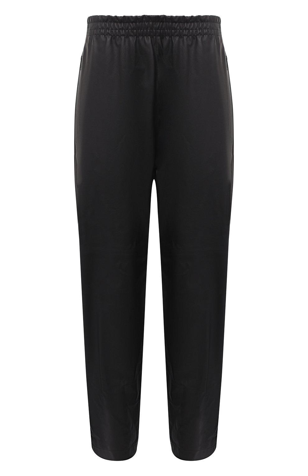 Мужские кожаные брюки BOTTEGA VENETA черного цвета, арт. 633448/VKVL0 | Фото 1