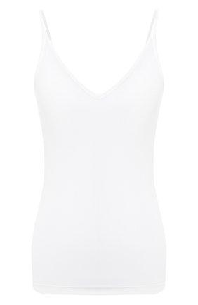 Женский топ JIL SANDER белого цвета, арт. JSCR705046-WR477108 | Фото 1