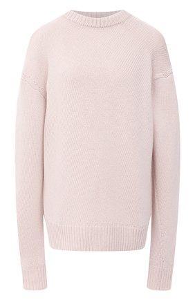 Женская свитер из шерсти и кашемира JIL SANDER светло-розового цвета, арт. JSPR752051-WRY21058 | Фото 1